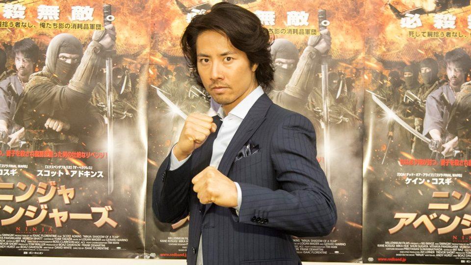 Kane Kosugi Kane Kosugi exclusive interview