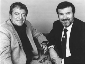 Menahem Golan and Yoram Globus