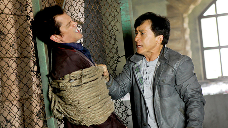Jackie Chan is on the hunt for a gambler in Skiptrace