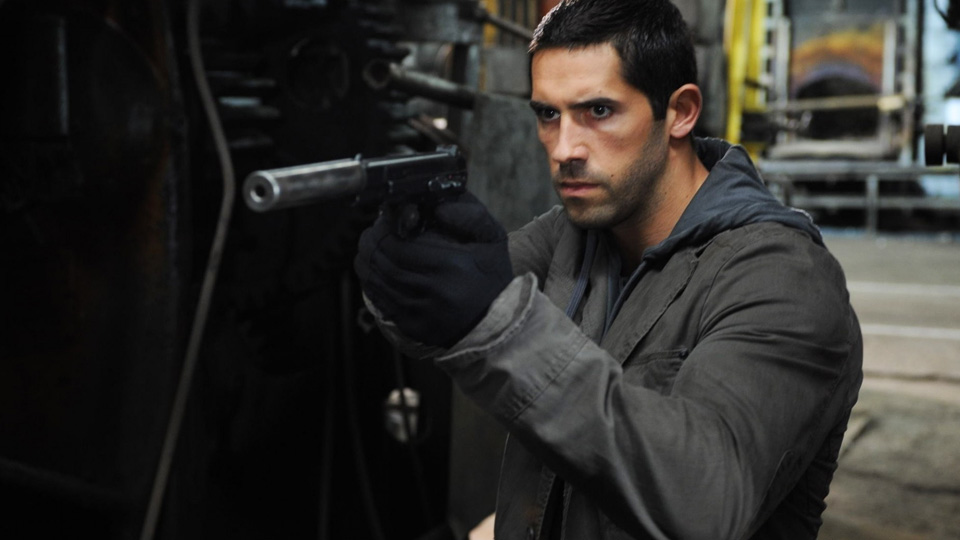 Scott Adkins as the most dangerous agent in Eliminators
