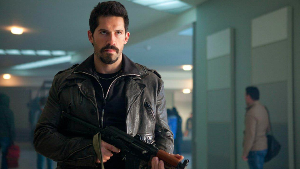 Scott Adkins as a clean-up expert in the Accident Man