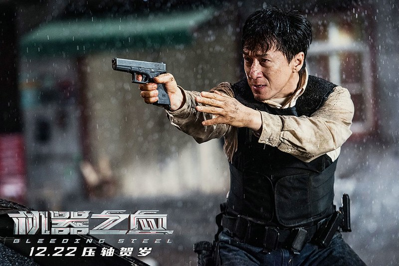 Jackie Chan as a special forces agent in Bleeding Steel