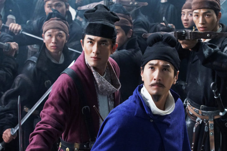 Detective Dee: The Four Heavenly Kings movie review